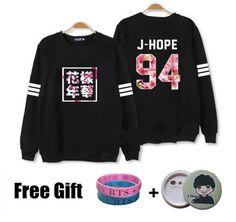 BTS Bangtan Boys Flower Sweatshirt