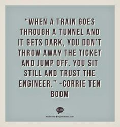 Trust the engineer. #CorrietenBoom