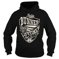 I Love Last Name, Surname Tshirts - Team BUNNER Lifetime Member Eagle Shirts & Tees