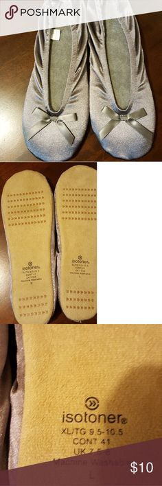 Isotoner Slippers NWOT Isotoner Slippers NWOT! Size XL 9.5-10.5 Isotoner Shoes Slippers