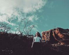 Róisín the curly rock and lots of lovely dead crap #madewithgoogle  #lovelydeadcrap // Also thanks to everyone who came along to the @igerssydney #igerssyd_palmbeach instameet on Sunday was such an awesome day