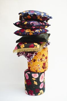 Stack them up! our new interiors collection is now online with our most loved prints are now available to bring home London House, Velvet Cushions, High Tea, Creative Director, Captain Hat, Ss, Youth, Interiors, Quilts