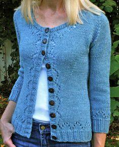 Miette knit a little longer