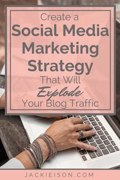 Create a Social Media Marketing Strategy to Explode Your Blog Traffic - Learn how to create an effective social media marketing strategy for your blog. Get ideas and tips on advertising your blog on popular platforms like Instagram, Facebook, and Twitter for 2018 and Beyond. Learn how to use your free social media calendar and planner to get the most out of social media for your blogging business. #socialmedia #socialmediamarketing #socialmediastrategy #socialmediamarketingstrategy