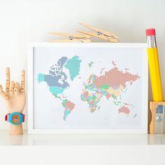 Pixel World Map #InspirationStyle #Decorar #DecorHome #Inspo4all #Inspohome #HomeInspo #Interiorismo #GetInspired #Decoración #Inspirations #Inspiracion #Decor #Decorate #Decoracion #Deco #Inspo #InspoDaily #HomeDecor #Home #Homestyle #Styles #InteriorDesign
