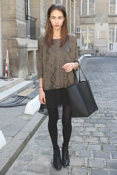 #PFW day 9: Everyone's wearing animal print blouses
