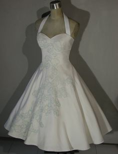 Was the dress you ended up with the one you imagined you would? :  wedding ThreeQuarterCircleSkirt