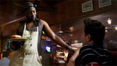 """I wanted to meet the sick f**k who ordered the veggie burger with bacon."" -Lafayette, True Blood."