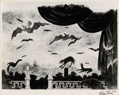 """magictransistor: """" Edward Gorey scenic designs, invitations and conceptual art for Bram Stoker's Dracula at the Martin Beck Theatre, New York City, """" Edward Gorey, Illustrations, Illustration Art, Bram Stoker's Dracula, Black And White Sketches, Goblin King, Scenic Design, Conceptual Art, The Magicians"""