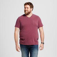 Men's Big & Tall V-Neck T-Shirt