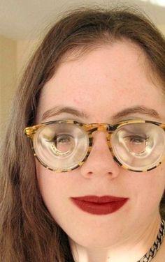 Geek Glasses, Girls With Glasses, Eyewear, Woman