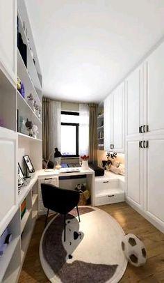 Small Room Design Bedroom, Small House Interior Design, Bedroom Furniture Design, Room Ideas Bedroom, Home Room Design, Diy Furniture, Bedroom Sofa, Bedroom Ideas For Small Rooms, Kids Bedroom