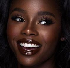 super ideas makeup looks dark skin make up Dark Skin Makeup, Dark Skin Beauty, Eye Makeup, Black Makeup, Beauty Makeup, Black Woman Makeup, Natural Makeup, Black Girl Makeup Natural, Contour Makeup