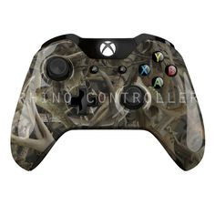 Custom XBOX One controller Wireless Glossy WTP-499-Next-Camo-Bonz Custom Painted- Without Mods