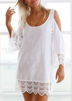 I want to toss all of my summer dress and shorts and just wear cover ups! So many cute styles and colors! And they are SO comfy!