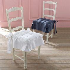 Cojín tapicero para silla de retor lino/algodón, JIMI