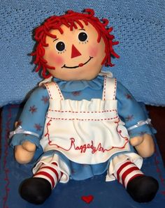 Zoe's Raggedy Ann By AmazingGrace2 on CakeCentral.com
