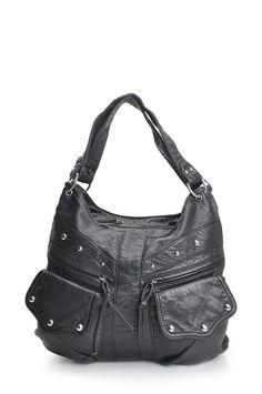 Maddi Blair shoulder bag with multiple external pockets