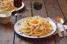 spaghetti carbonara sans creme
