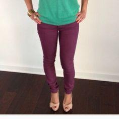 Purple skinny jeans Cute purple jeans. Skinny fit. H&M Jeans Skinny