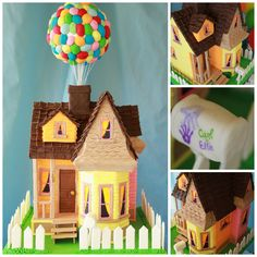"""UP"" cake....Omg so cute!"