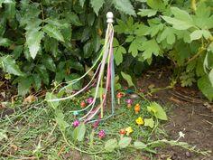 Fairy Garden Maypole by FairyElements on Etsy