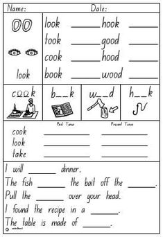 """Great worksheet for practicing """"oo."""" The website also has many ..."""