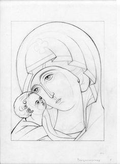 Christian Drawings, Christian Art, Sketch Icon, Art Sketches, Catholic Art, Religious Art, Virgin Mary Art, Illumination Art, Japan Painting