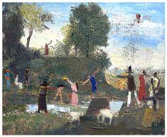 John Bradford Holiday Positive Images, Bradford, Contemporary Paintings, Art Gallery, Anna, Holiday, Artist, Inspiration, Painting Art