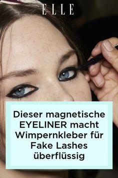 Magnetische Eyeliner sind der Make-up-Trend im Herbst 2021 und machen Wimpernkleber für Fake Lashes überflüssig. Mehr dazu auf Elle.de!