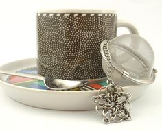 Celtic Star Chainmail Tea Infuser Kit - Stainless Steel. $16.00, via Etsy.