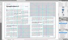 ¿Cómo se crea una retícula modular? #Adobe #InDesign #Editorial