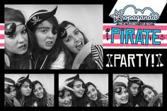 Propaganda pirate party at Q Club, Reading.  Photo booth by The Photo Cabin.