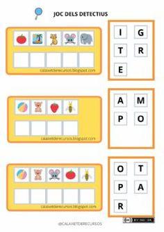 Catalan Language, I School, Classroom, Education, Games, Reading, Kids, Tea, Writing