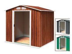 tepro Metallgerätehaus Riverton 6x6 inkl. Unterkonstruktion 200x180