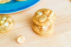 Super Chunky White Chocolate Macadamia Cookies. ~ These are my favorite cookies in history uh this recipe is so exciting!
