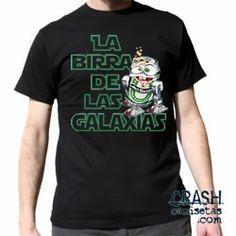 Camiseta BIRRA DE LAS GALAXIAS