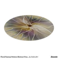 Floral Fantasy Pattern Abstract Fractal Art Cutting Board