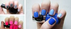 Create Ombré Nails With Just One Polish