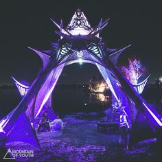 Temple of Bliss. #symbiosis2015  mountainofyouth.net