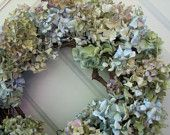 Love our hydrangea wreath!