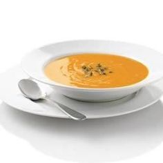 The rich sweetness of sweet potatoes simmered with herbs and spices makes an elegant soup in less than 30 minutes. Perfect for an everyday gluten free recipe or your next holiday meal.