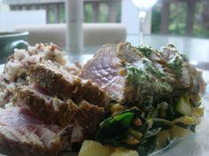 Pistachio Crusted Tuna Recipe