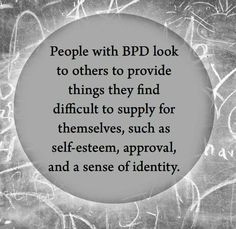 What Borderline Personality Disorder looks like