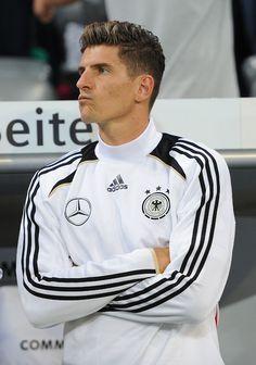 The always handsome Mario Gomez for Die Mannschaft.