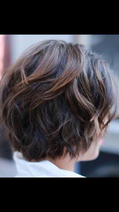 over 50 over 50 Easy Hair Cuts, Short Hair Cuts, Short Shag Hairstyles, Pretty Hairstyles, Fancy Short Hair, Bob Haircut Back View, Medium Hair Styles, Curly Hair Styles, Grey Hair Inspiration