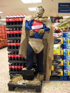 Uckfield FM News » More !! Superhero Scarecrows go on display in ...