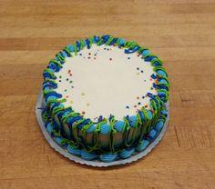 #blue Confetti cake #wedekingsbakery