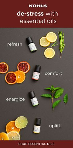 Refresh and relax with Kohl's. Try out essential oil aromatherapy for an easy and quick way to de-stress. Whether you need a midweek energy boost or a calm night at home, there's an essential oil for every mood. Shop Serene House and more top brands for a Essential Oil Uses, Young Living Essential Oils, Essential Oil Diffuser, Herbal Remedies, Natural Remedies, Scar Remedies, Natural Treatments, Living Essentials, Camping Essentials