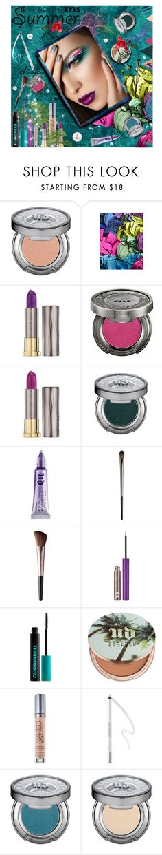 """Urban Decay"" by cecile999 ❤ liked on Polyvore featuring beauty, Urban Decay, Beauty and summer2016"